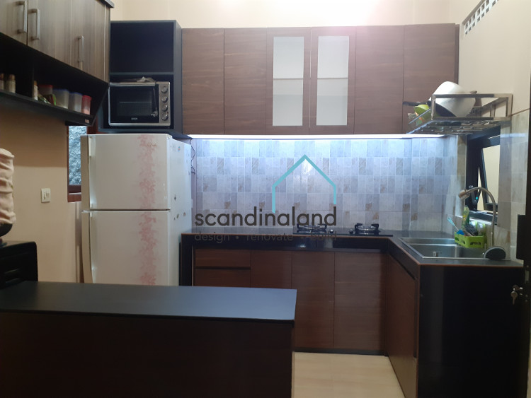 Project Kitchen Set Dark Brown di Kasihan Bantul